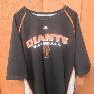 SF Giants Mesh Jersey Shirt